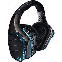 Logitech G933 Artemis Spectrum Auriculares Gaming Inalámbricos, DTS Headphone:X 7.1 Surround, Transductores 40mm Pro-G…
