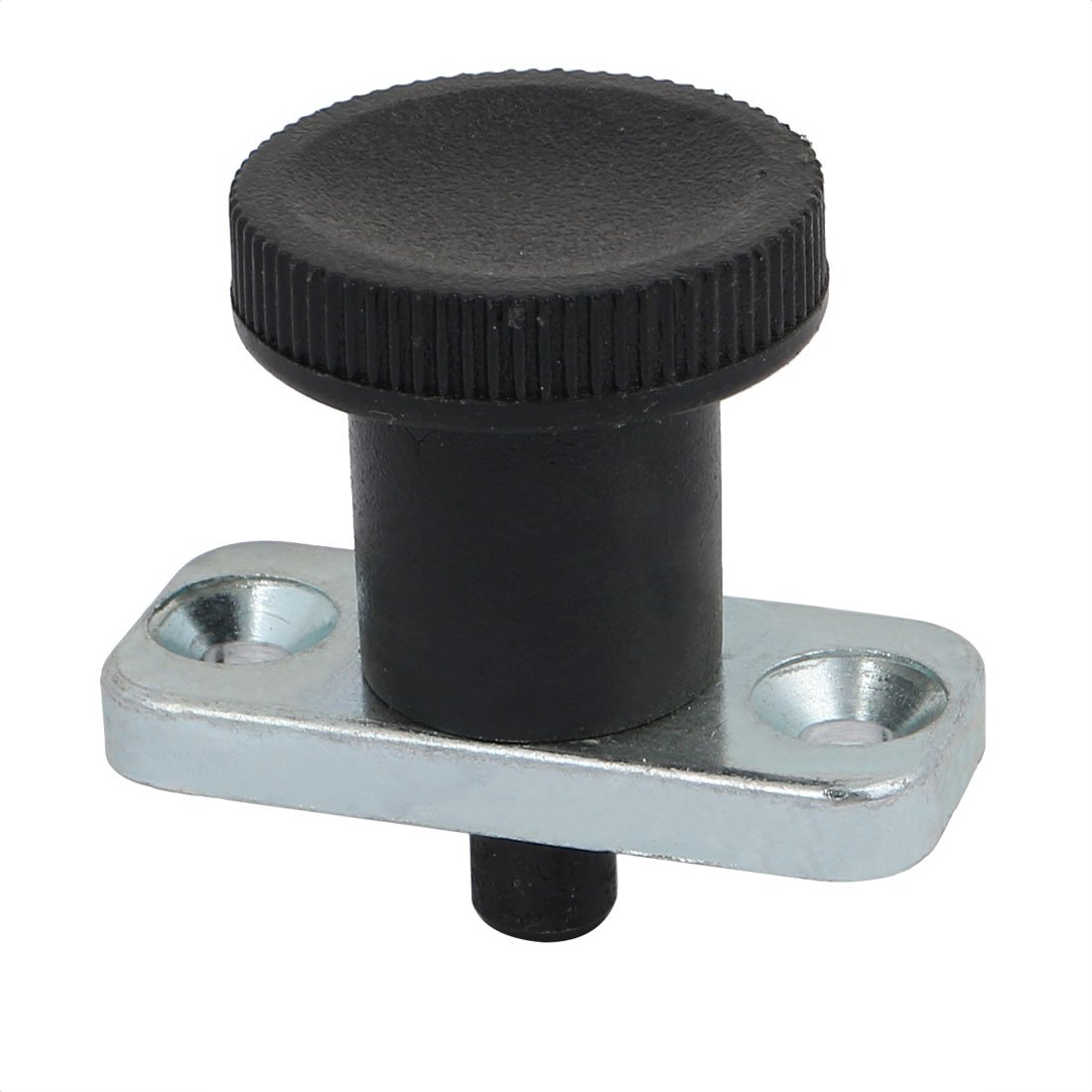 uxcell 8mm Pin Dia 8mm Pin Length Non Lock-Out Type Zinc Alloy Plate Mount Indexing Plunger