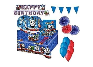 Irpot Kit 54 F Fiesta de cumpleaños Thomas Train: Amazon.es ...