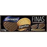 Fontaneda - Digestive Finas Chocolate Negro , 170 g