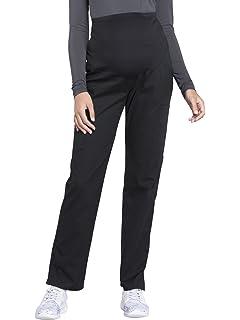 166afe4cd1a Cherokee Workwear Professionals Women's Maternity Straight Leg Scrub Pant