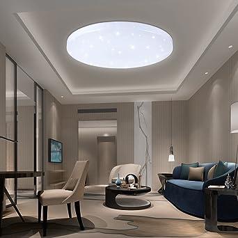 Vingo® 16 W Deckenleuchten LED Lampe Decke rund licht der Sterne ...