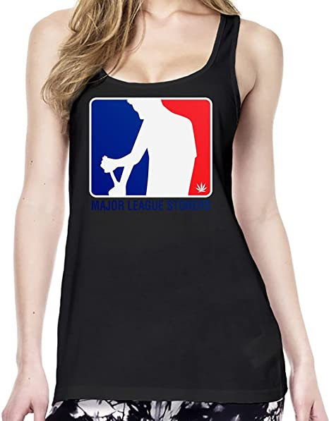 NBA National League Smokers Stoners Weed Haze Camiseta estilo Túnica Mujeres Medium