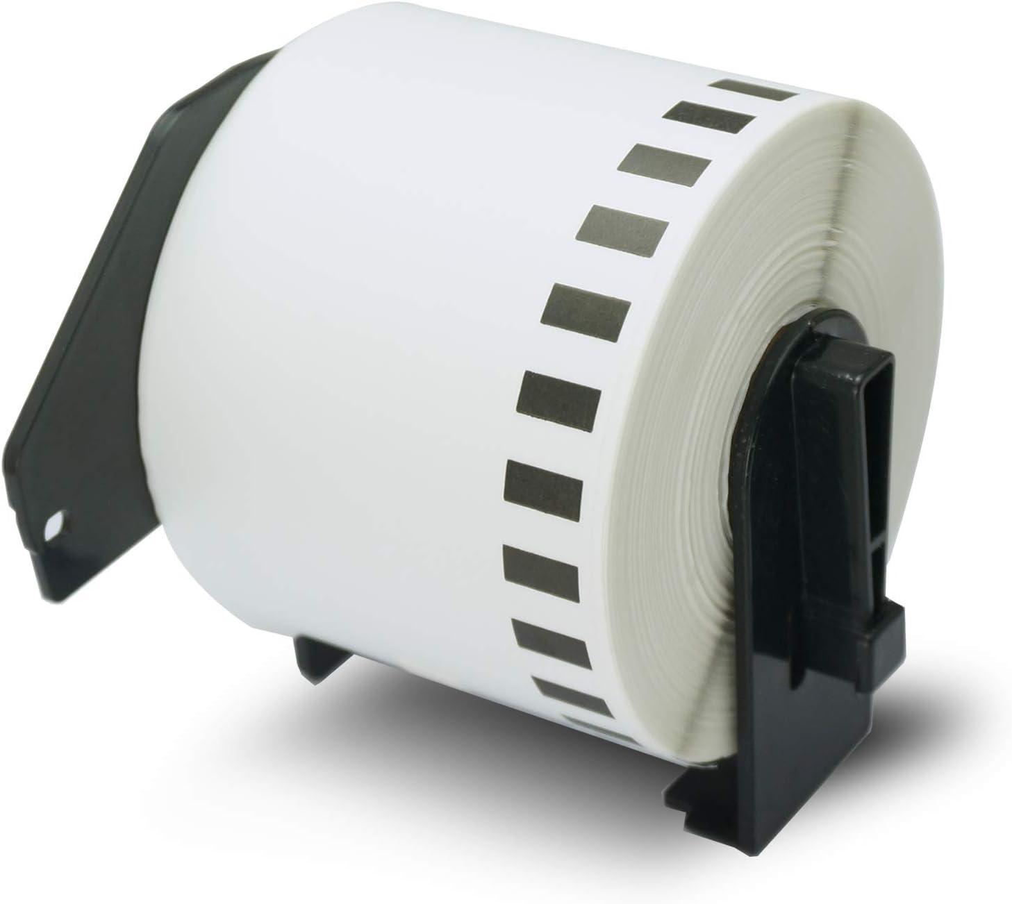 5x DK-11202 62 x 100 mm Compatibili Etichette per Spedizioni per Brother P-Touch QL-1110NWB QL-1100 QL-1060N QL-500 QL-500A QL-570 QL-580 QL-700 QL-710W QL-800 QL-810W QL-820NWB 300 Etichette//Rotolo