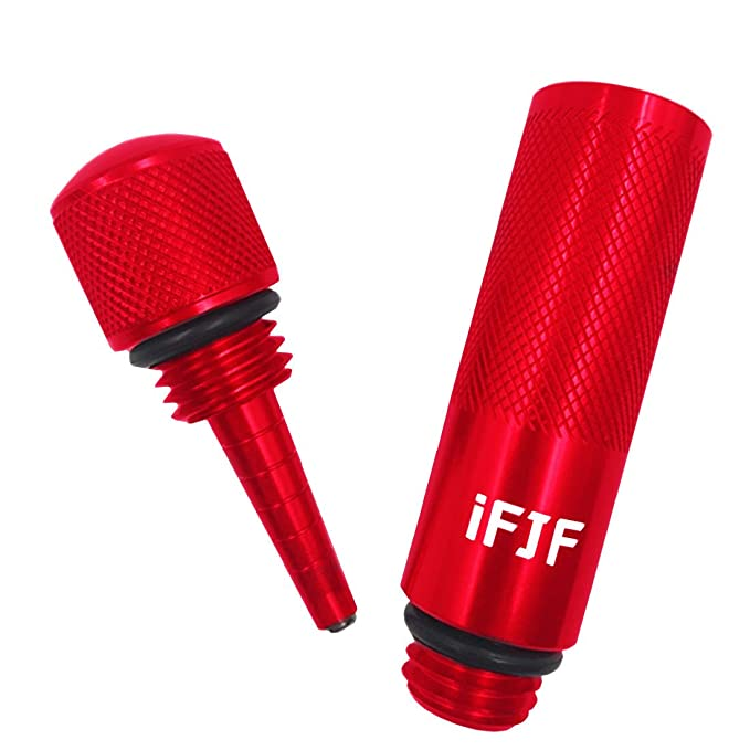 Amazon.com: iFJF - Bastón antifugas de aceite de aluminio ...