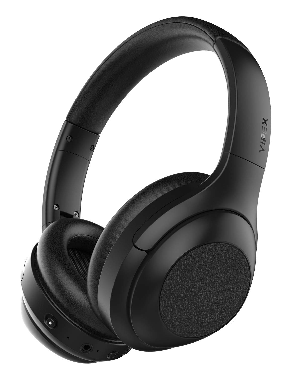 Active Noise Cancelling Headphones, Bluetooth Wireless Headphone Over Ear Headphones with Mic, Hi-Fi Sound Deep Bass, Quick Charge, Up to 30H Playtime for Work Travel