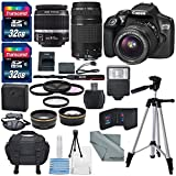 Canon EOS Rebel T6 DSLR Camera with EF-S 18-55mm f/3.5-5.6 IS II Lens, EF ...