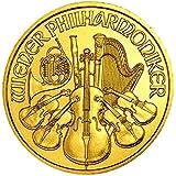 ウィーン金貨 1/10オンス オーストリア造幣局発行 3.11gの純金 K24 24金 ウィーン・フィルハーモニー ゴールド コイン 保証書付き