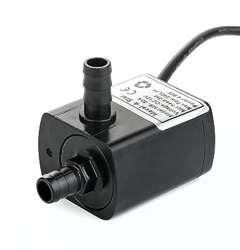 12v Dc Bomba de agua pequeña, 63 GPH Mini bomba sumergible para enfriamiento de agua