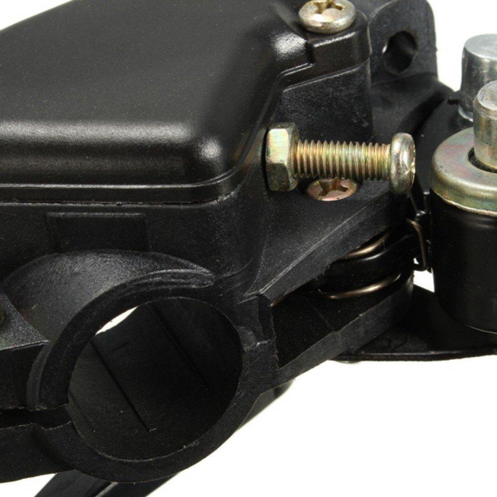 mfpower Leva del freno a mano anteriore a doppio comando a farfalla per mini quad moto da moto ATV Dirt Bike lato sinistro o destro