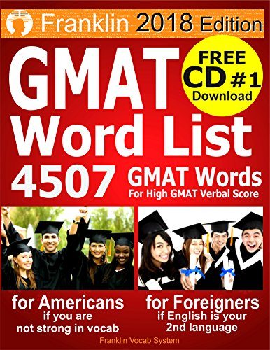 Pdf Download 2018 Franklin Gmat Word List 4507 Gmat Words For
