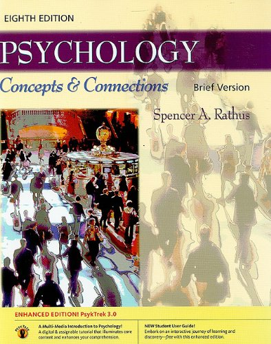 Download Psychology: Concepts & Connections, Brief Version (with PsykTrek 3.0 Enhanced Edition) pdf