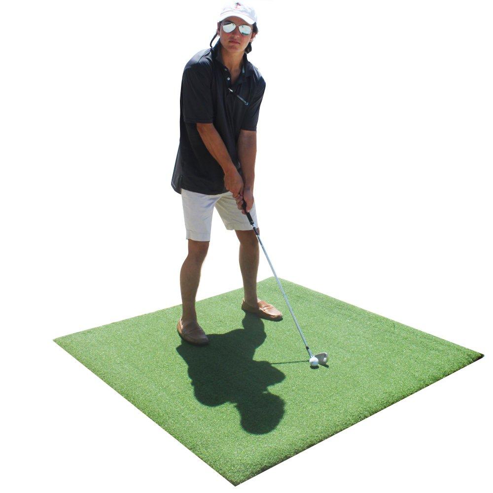 プレミアム4 ' x4 ' Luxury Tee Golf Hitting Mat   B075MNPJRX