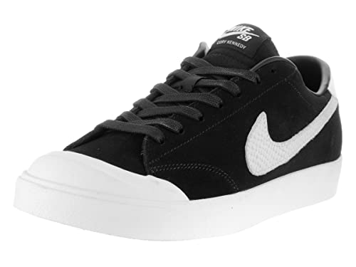 newest 359f8 ec60e Nike Zoom all Court CK QS, Scarpe da Skateboard Uomo, (Nero Bianco