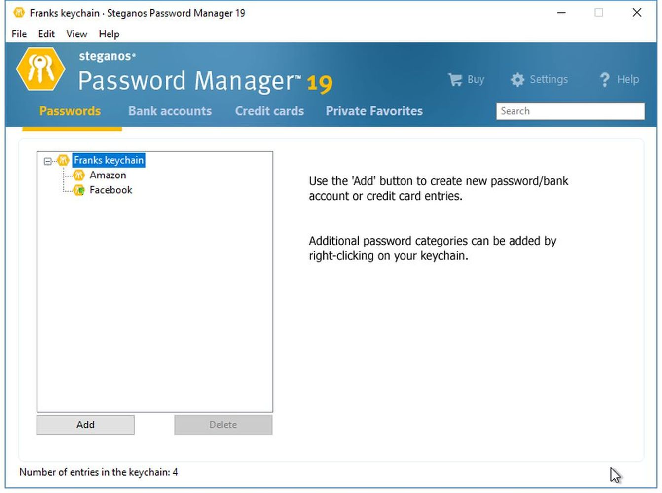 Amazon.com  Steganos Password Manager 19 - Create and manage strong  passwords! Windows 10 98d88f4af5