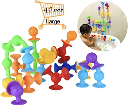 Fat Brain Toys Squigz 2.0-36 Piece Set New Encourages fine motor skills