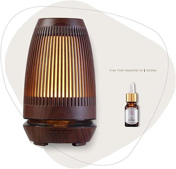 スリープ霧化サイレント加湿器ナイトライトバラエティを支援エッセンシャルオイルディフューザー中空アロマディフューザー (Color : M-1)