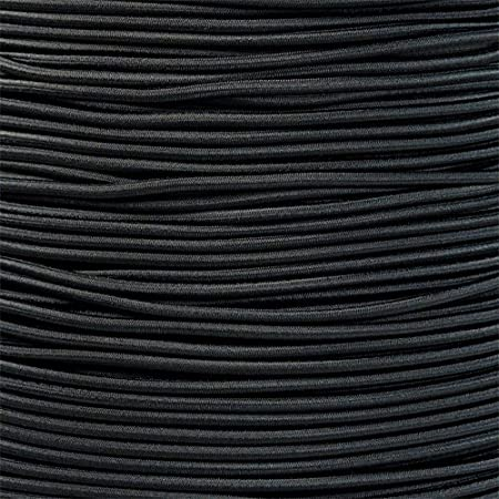 2mm THIN ROUND ELASTIC BUNGEE ROPE SHOCK CORD TIE DOWN VARIOUS LENGTHS