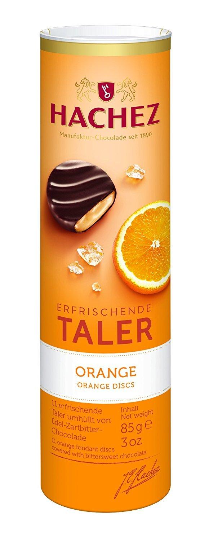 Hachez Refreshing Taler Orange (2 x 85g)
