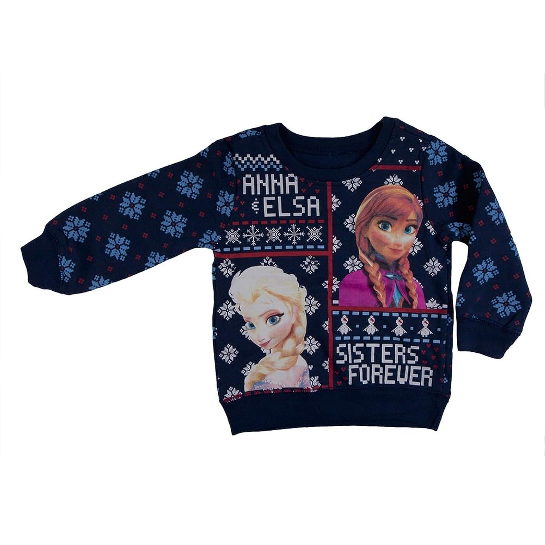 Amazon.com: Freeze crew neck sweatshirt toddler 2T blue frozen ...