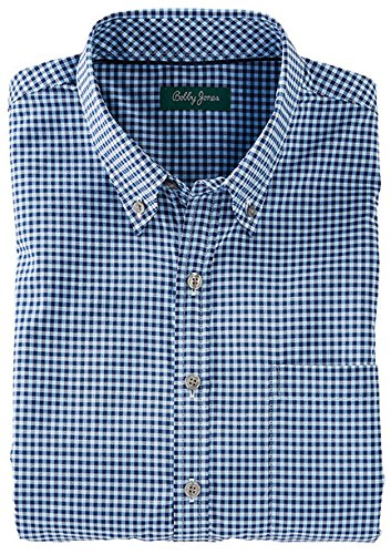 Bobby Jones Herren Ramsey Überprüfen Easy Care sportshrt Buttondown