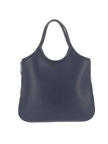 778a2d569 Emporio Armani , Sac pour femme à porter à l'épaule - Bleu - bleu ...