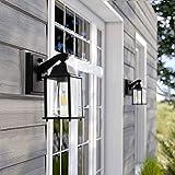 Dusk to Dawn Sensor Wall Lantern,Exterior Outdoor