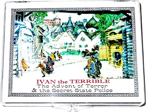 1564 RU Ivan the Terrible, Silver Kopek Coin In Clear Box,With Story,And Certificate 18mm Fine