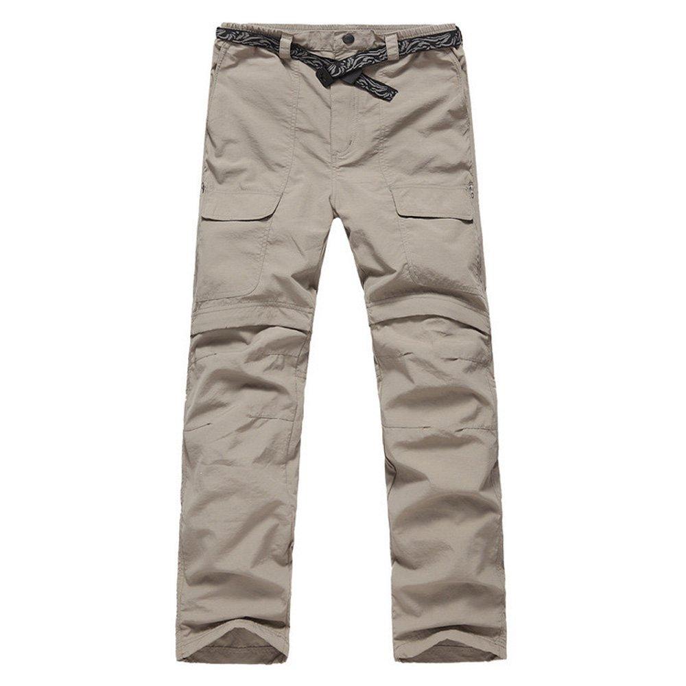 LANBAOSI Men's Hiking Lightweight Quick Dry Convertible Mountain Cargo Pants… jbr9369