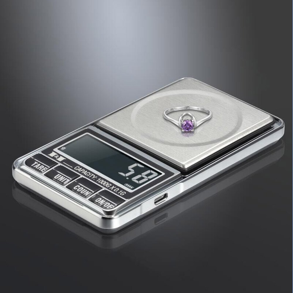 AMZVASO - 1000gx0.1g Mini Digital Scales balance Pocket balanza Jewelry Electronic Scales Precision joyeria Balance pesas bascula scale - - Amazon.com