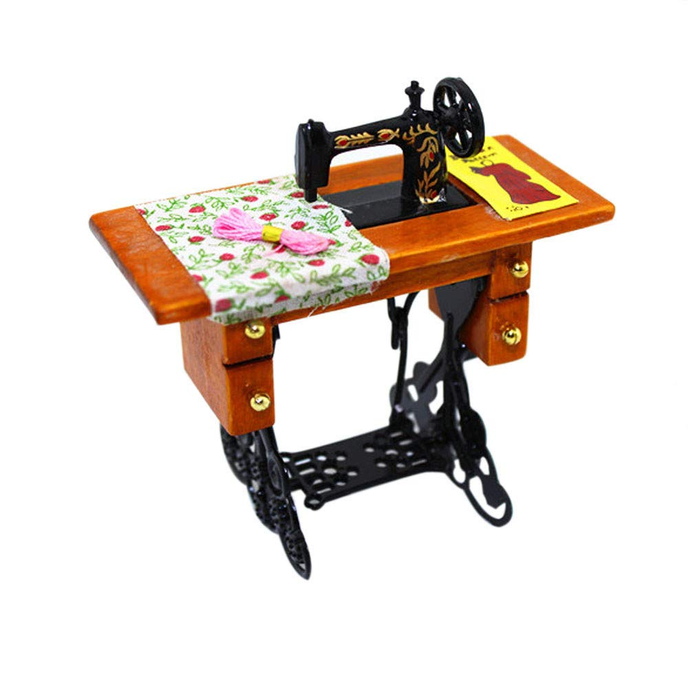 F_Gotal Toys for Boys Girls Clearace - Baby Kids Toddler Educational Toys Mini Sewing Machine Dollhouse Decoration Learing Toys for Kids Child Adults Gifts