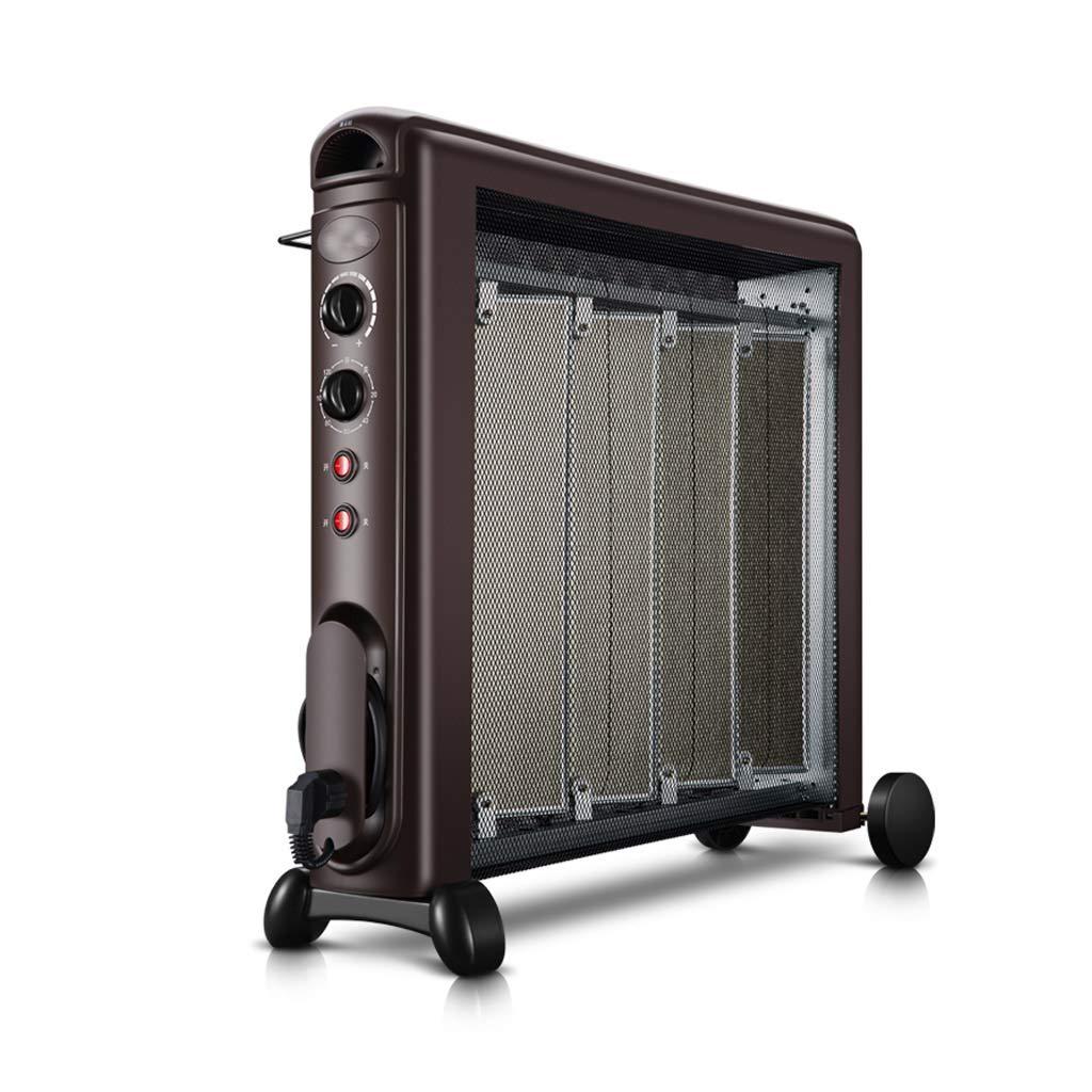 Acquisto GYH Riscaldatore Elettrico Mica Pannello Riscaldatore a convezione 2 Alimentatori Protezione surriscaldamento Verticale 2100W (#) Prezzi offerte