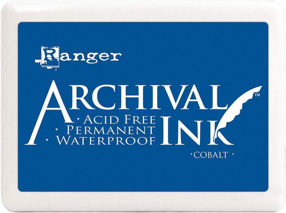 gro/ß Ranger Jumbo Archival Stempelkissen Kobaltblau