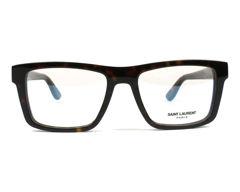 8dcd5a502eb Yves Saint Laurent frame (SLM-10 006) Acetate Dark Havana at Amazon Men s  Clothing store