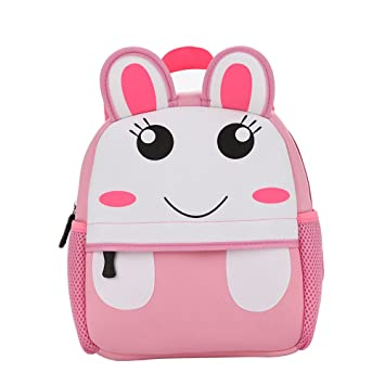 6727d93b7d Vahome® School Bag Kids Backpack Childrens Rucksack Cute Animal Designs School  Bag Rucksack (Rabbit