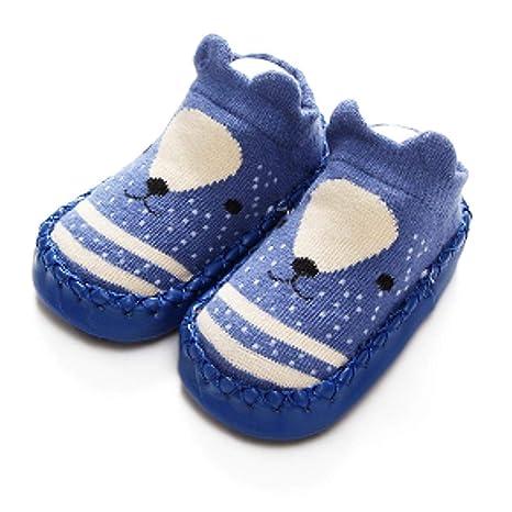 AOLVO Calcetines para bebé, para recién Nacido, para bebés, niñas ...