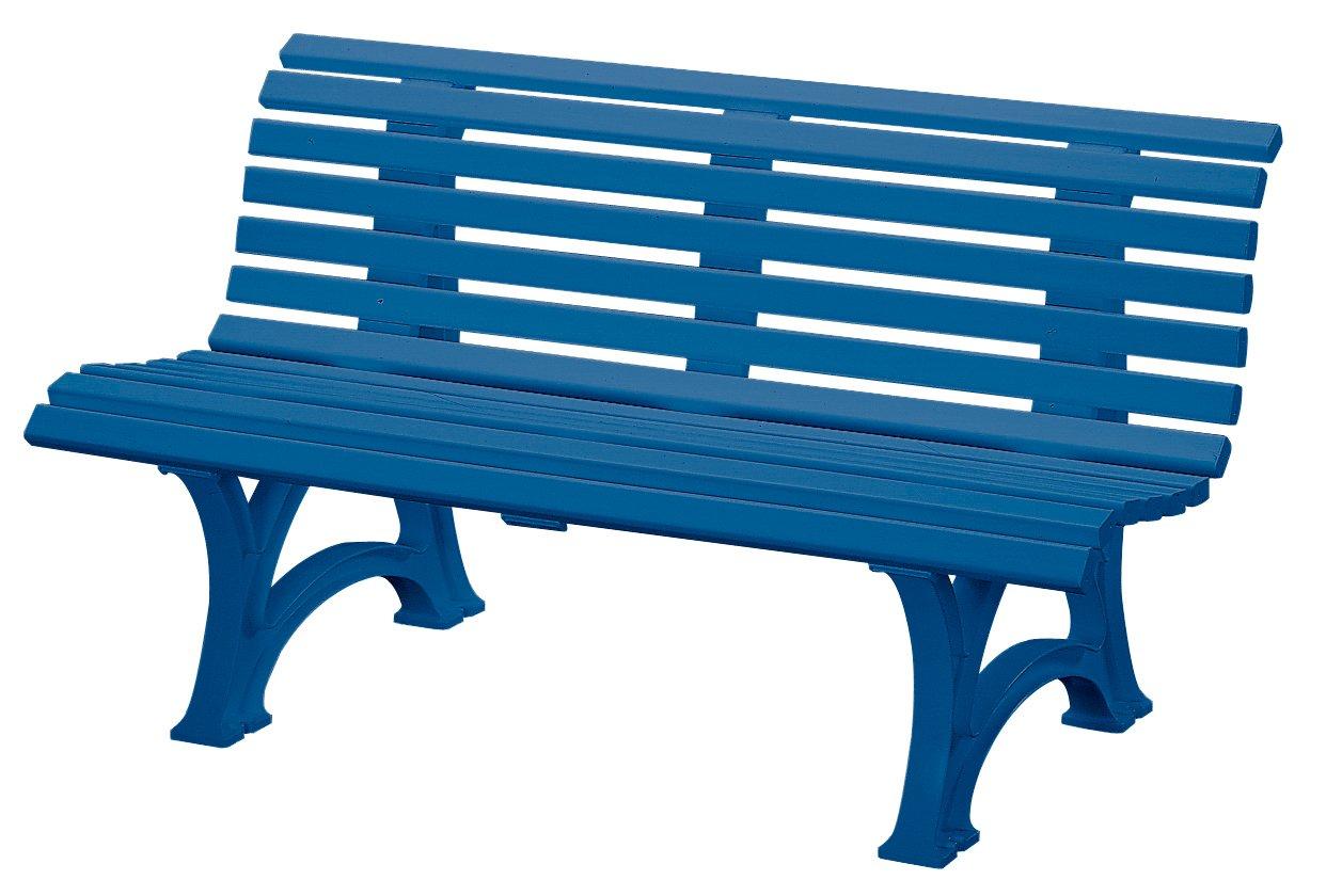 gartenbank blau