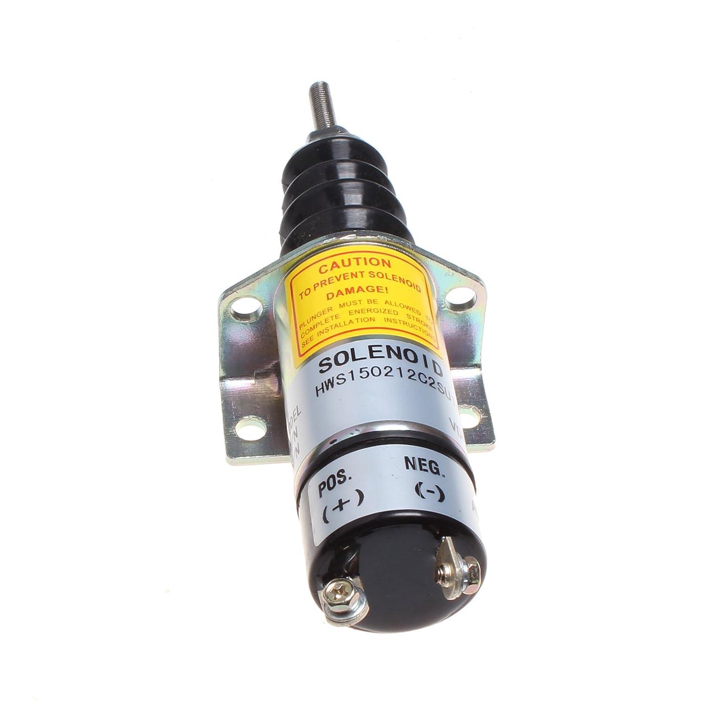 Holdwell 1502-12C2SU1B2S1 for Woodward Solenoid SA-3080 12V 1502
