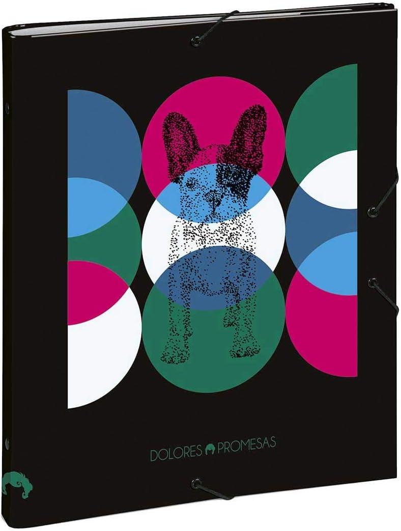 Carpeta Clasificadora Dolores Promesas, 26 x 33.5 x 3 cm: Amazon.es: Oficina y papelería
