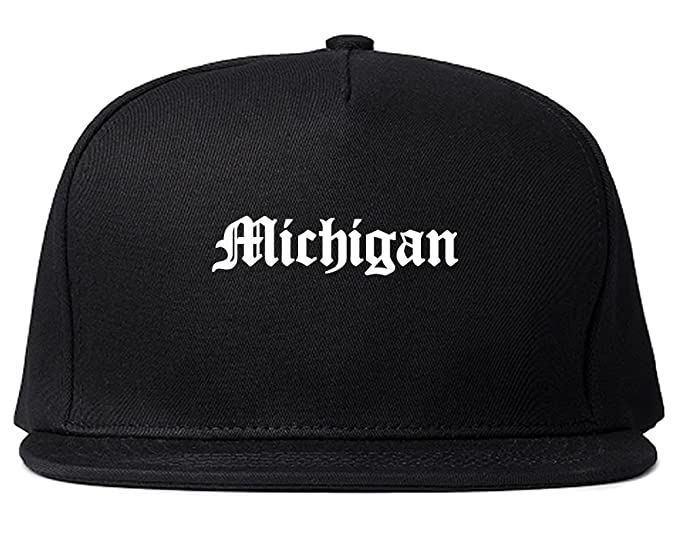 MI Michigan State Old English Snapback Hat Cap Black at Amazon Men s ... aa68a9314ffd