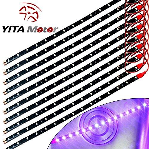 YITAMOTOR Motorcycle 15SMD Waterproof Flexible