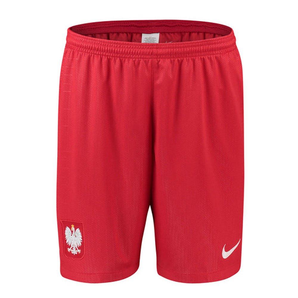 2018-2019 Poland Nike Away Shorts (Red) B07C4MQPQNRed L 34-36\