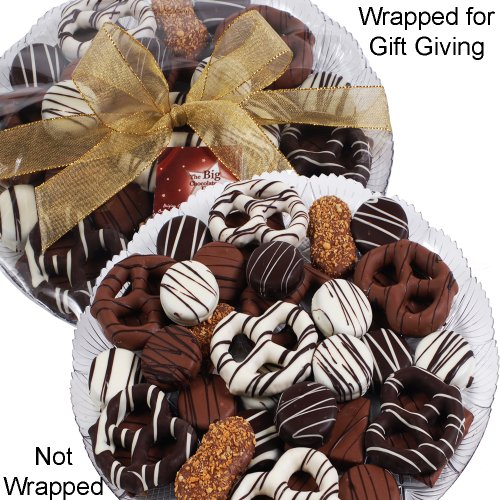 Art of Appreciation Gift Baskets Premium Belgian Chocolate Gift Platter, 36 Count