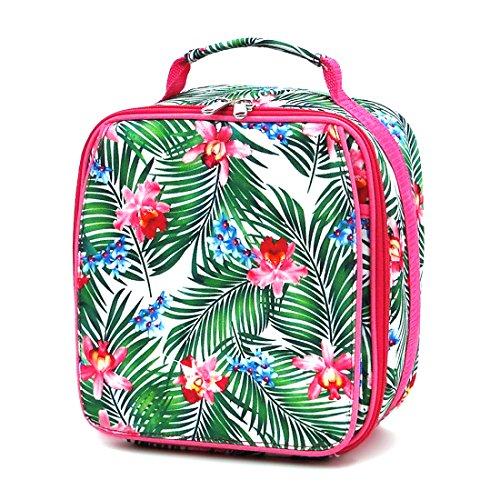 Cymbidium Medium (Insulated Water Resistant Lunch Bag for kids children Thermal Lunchbox Hot Pink Cymbidium)