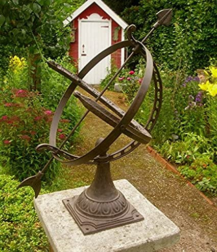 Deko Krone Gusseisen antikbraun NEU Landhausstil Vintage Gartendeko Nostalgie