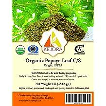 Kejora Organic Papaya Leaf C/S - 1 Lb (453.6 gr)
