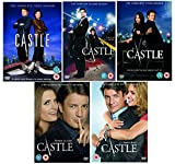 The Complete Castle TV Series (25 Discs) DVD Collection Set: Season 1, 2, 3, 4 and 5 + Extras