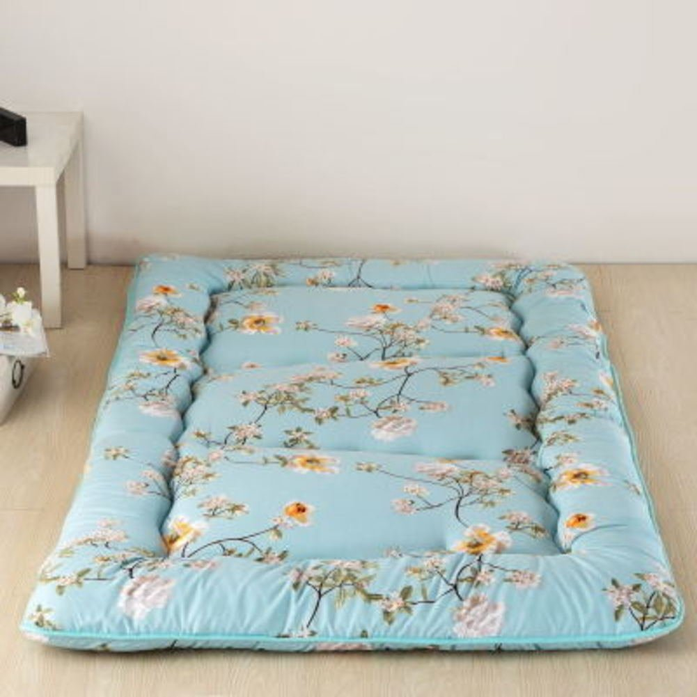 T Queen1 Pure color Mattress,Thickened Tatami Mat,Student Dormitory Sponge Mat,Single Double Floor-H 0.9m Bed