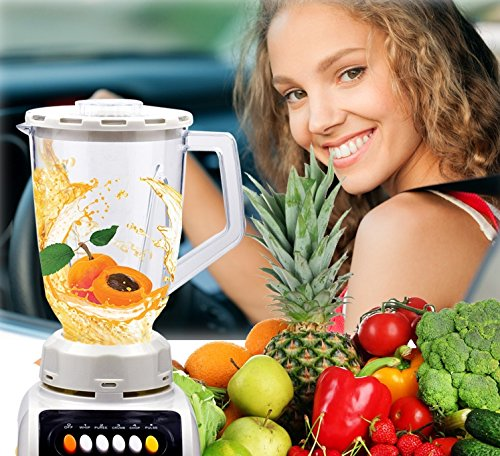 Portable 1500ML 12V DC Fruit and Vegetable Juice Extractor outdoor camp juicer