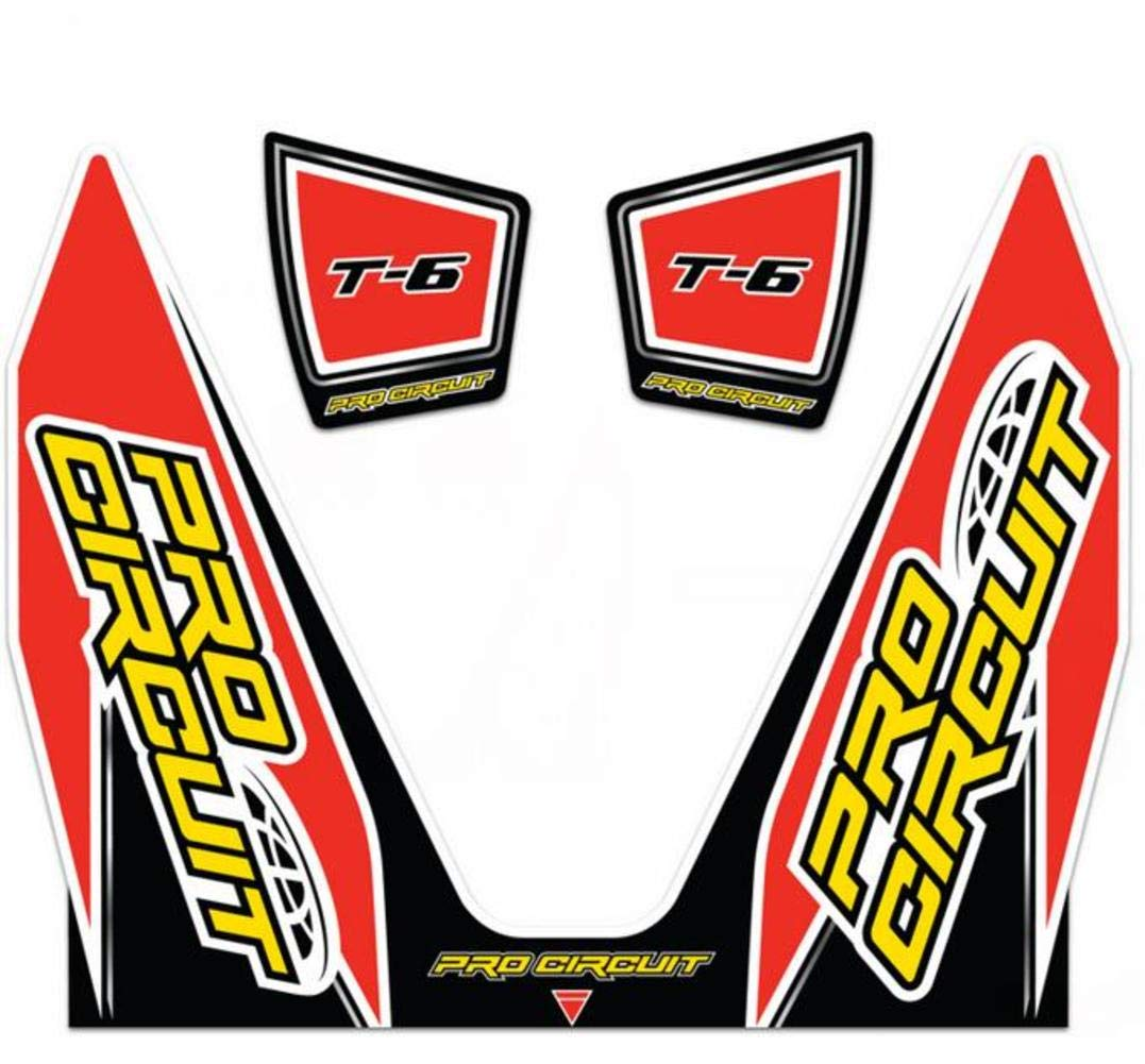 Pro Circuit DC14T6 T-6 Exhaust Decal